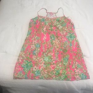 NWOT Lilly Pulitzer Dusk Silk Dress